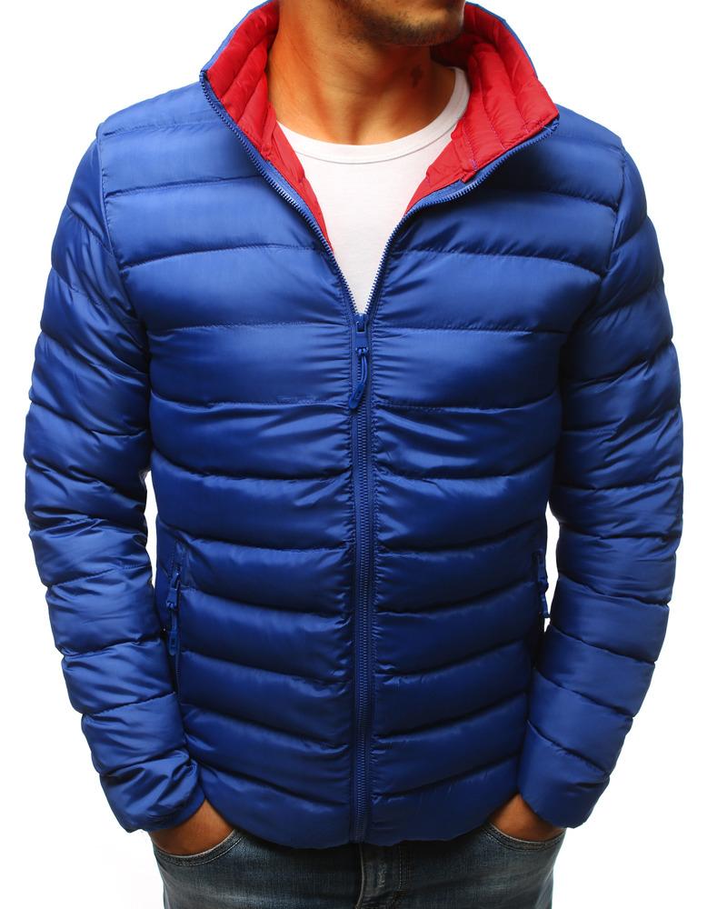 Pánska bunda svetlo modrá