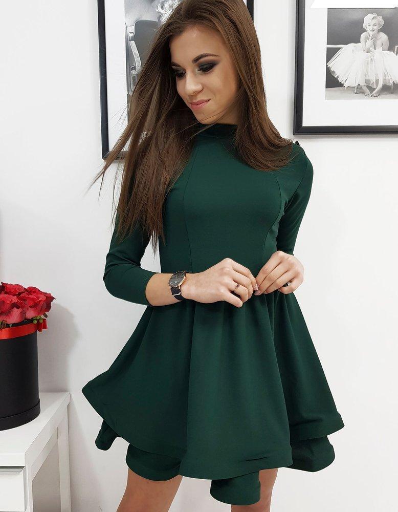 Šaty elegantné zelené
