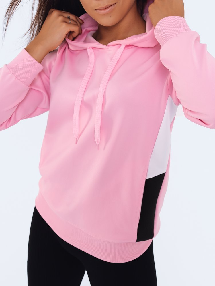 Bluza damska dresowa GIM różowa BY0600