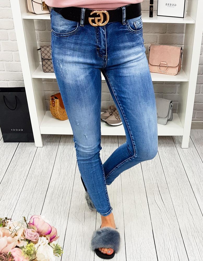 Spodnie damskie jeansowe (uy0172)