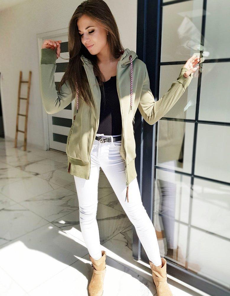 Bluza damska GIAGOS zielona BY0610