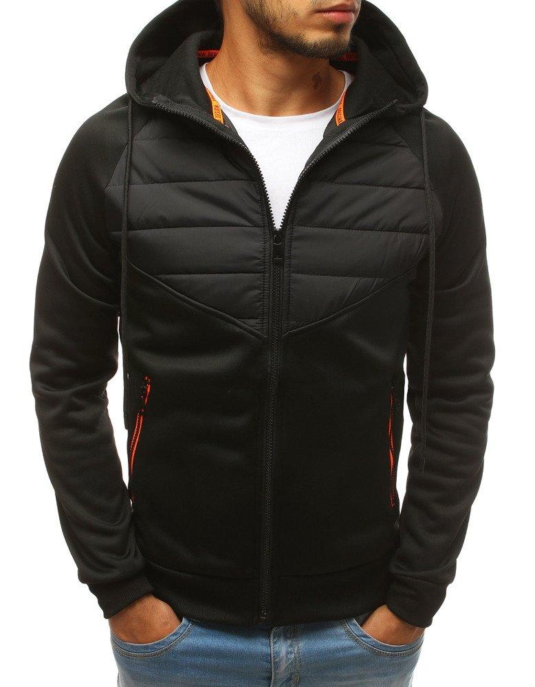Čierna pánska bunda (tx2699)