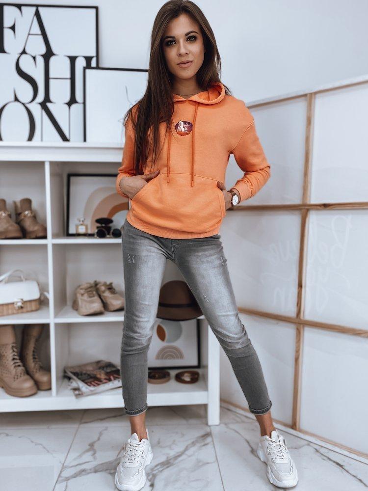 Bluza damska COSMO pomarańczowa Dstreet BY0890