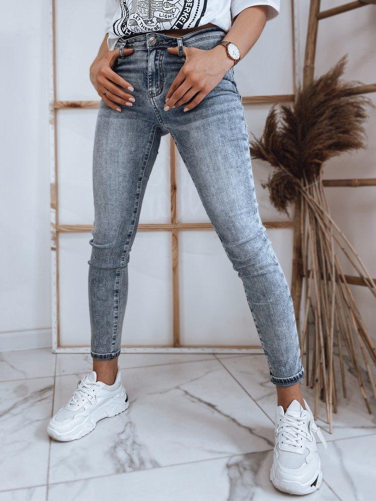 Spodnie damskie jeansowe VALIA niebieskie Dstreet UY0853