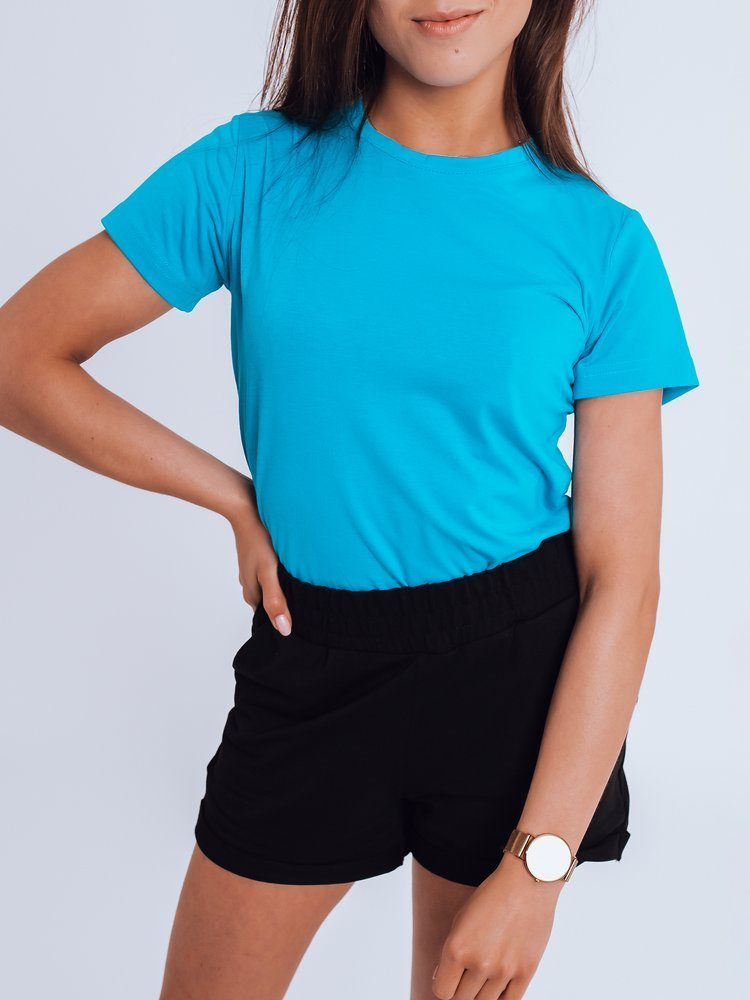 T-shirt damski MAYLA II niebieski Dstreet RY1737
