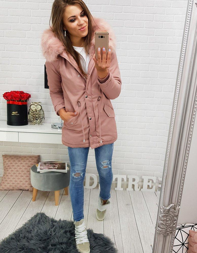 Dámska zimná bunda s kapucňou (ty0270)