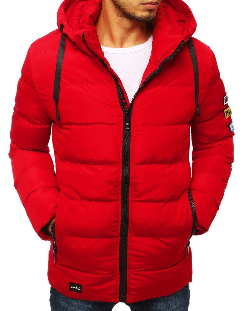 Červená bunda pre pánov (tx2951)