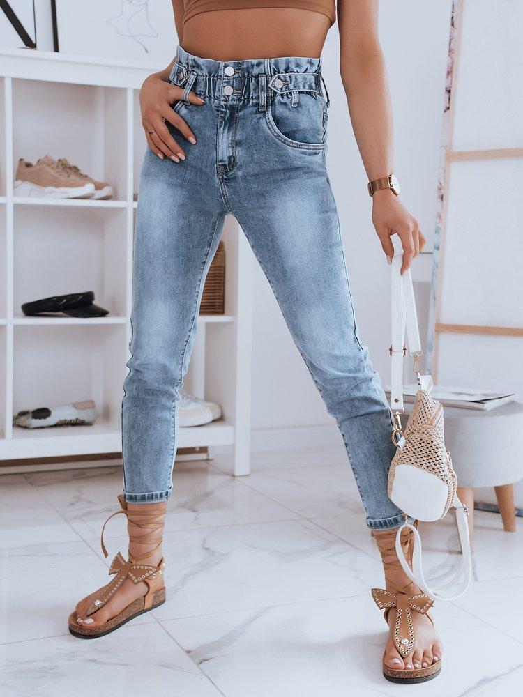 Spodnie damskie jeansowe ENSIRO niebieskie Dstreet UY0945