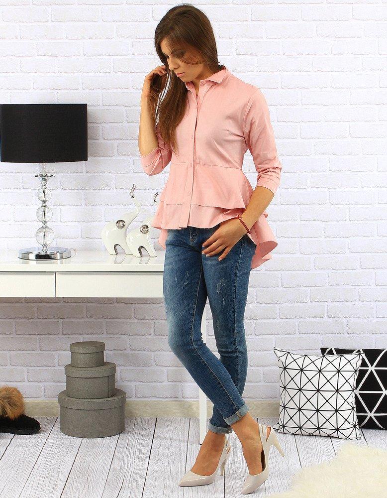 Dámska košeľa ružová
