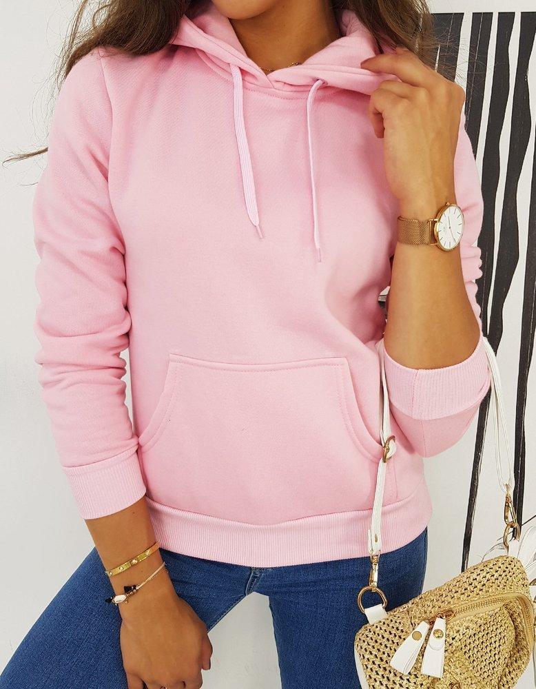Bluza damska MON różowa BY0513