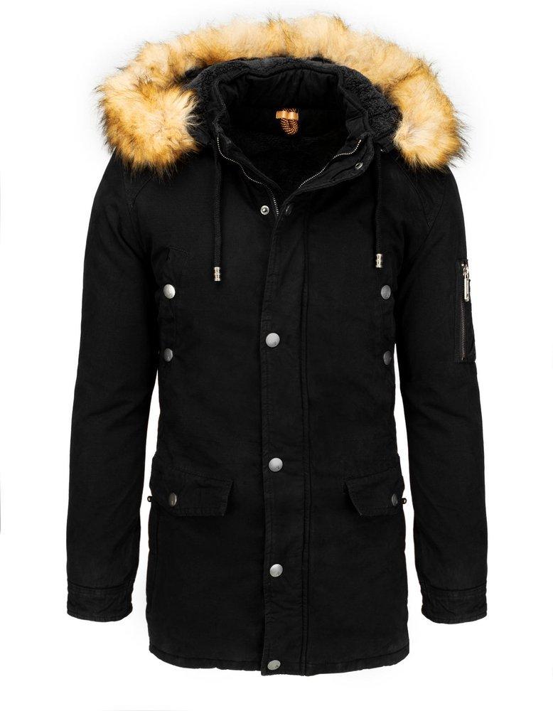 Zimná pánska bunda s kapucňou TX3539