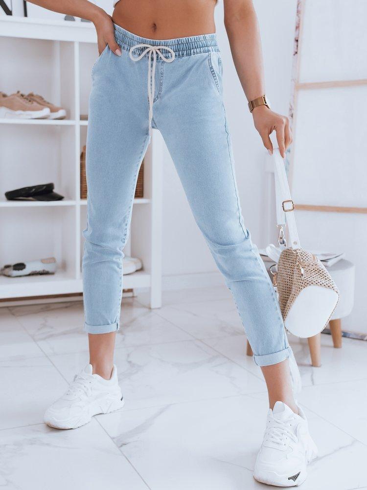 Spodnie damskie jeansowe CASSI niebieskie Dstreet UY0949