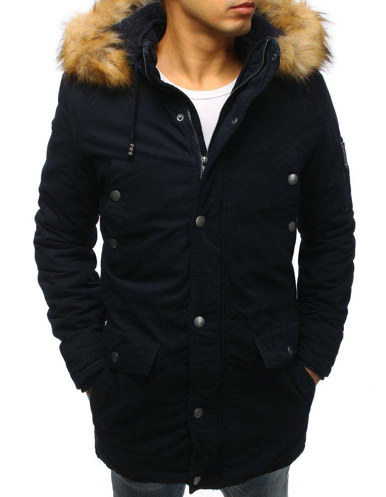 Granátová pánska bunda na zimu (tx2469)