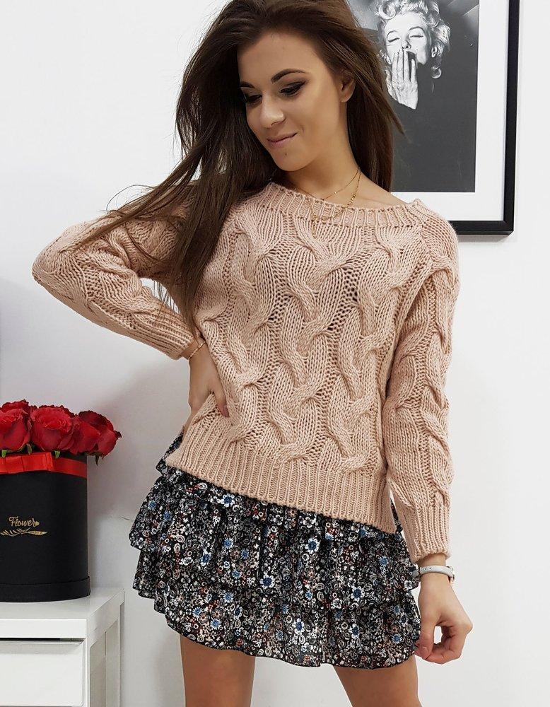 Sweter damski LISS różowy MY0686