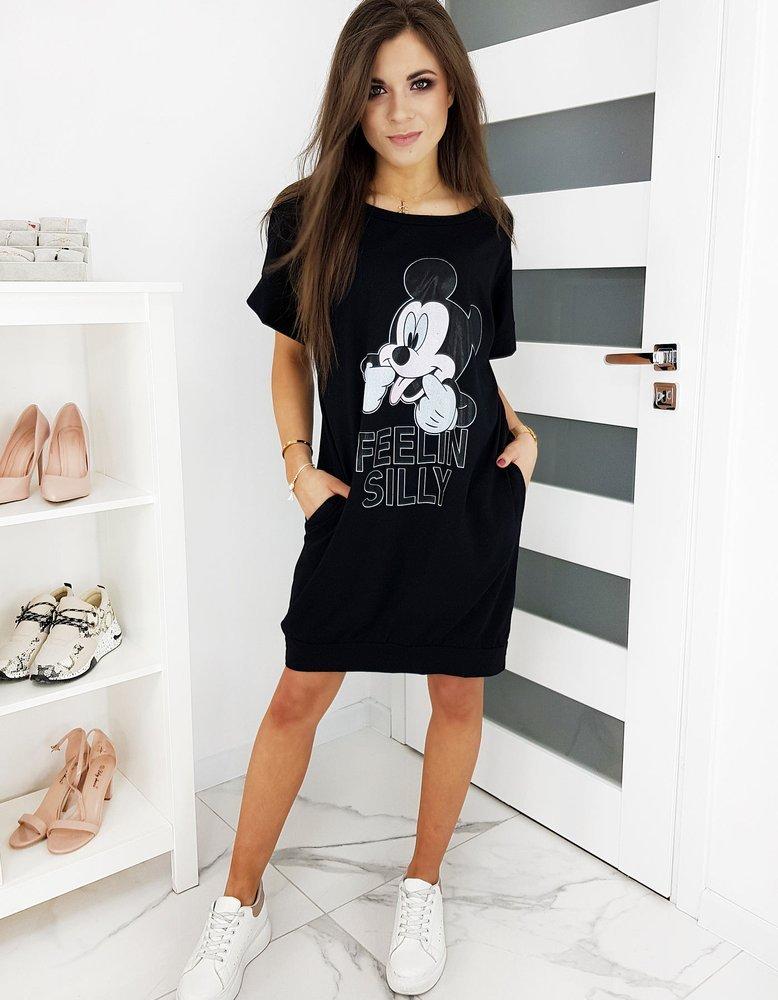 Športové šaty MICKY FELIN čierne