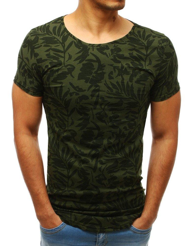 Krátke tričko zelené