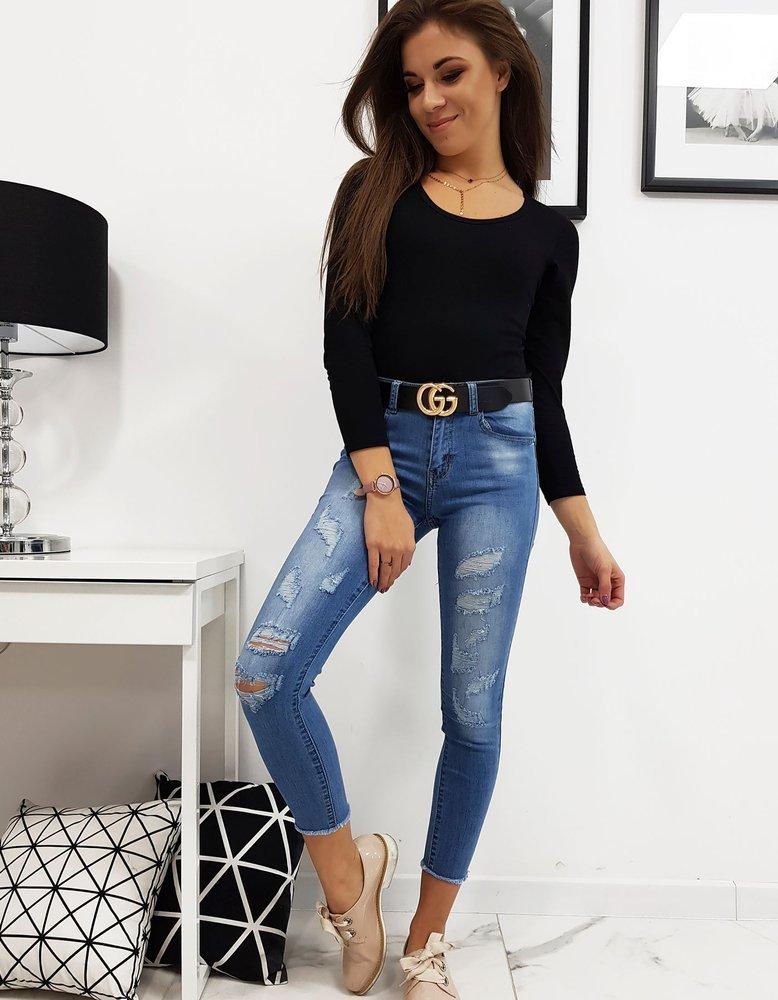 Spodnie damskie jeansowe RELAX UY0144