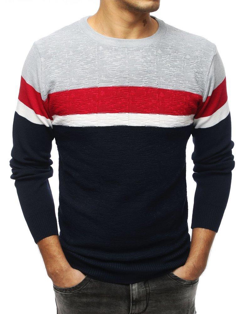 Modrý pánsky sveter (wx1358)