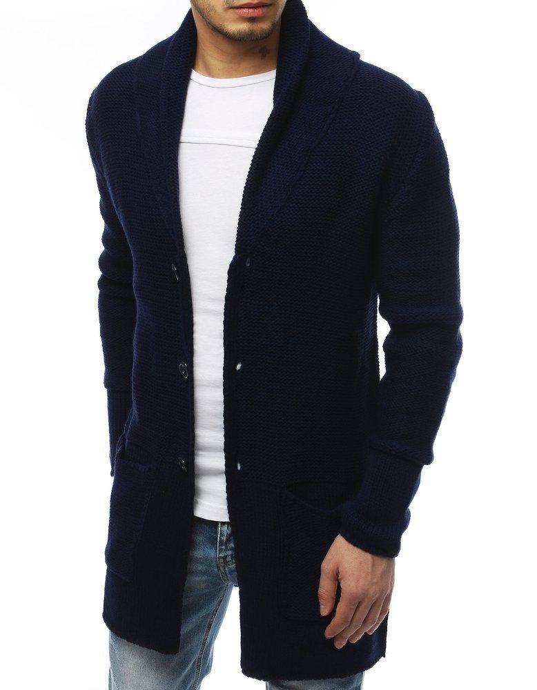 Pánsky sveter námornícka modra