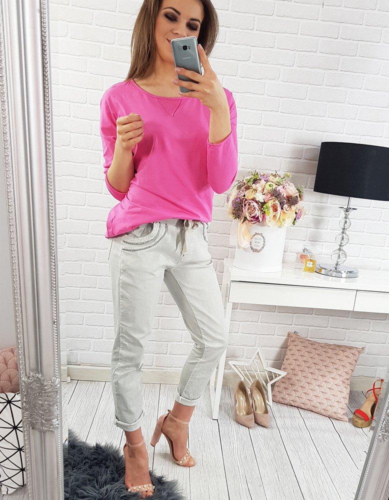 Bluzka damska DINA różowa RY0254