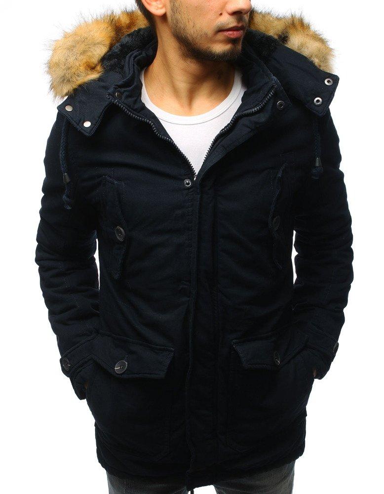 Granátová pánska zimná bunda (tx2540)