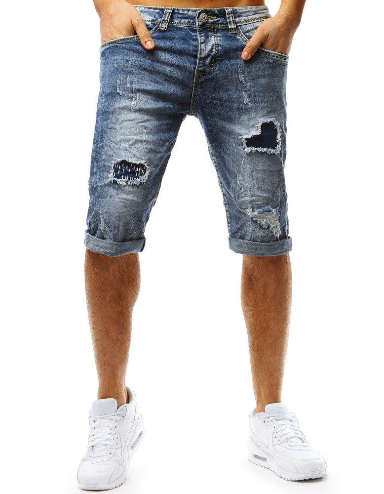 Pánske džínsové kraťasy. (sx0762)