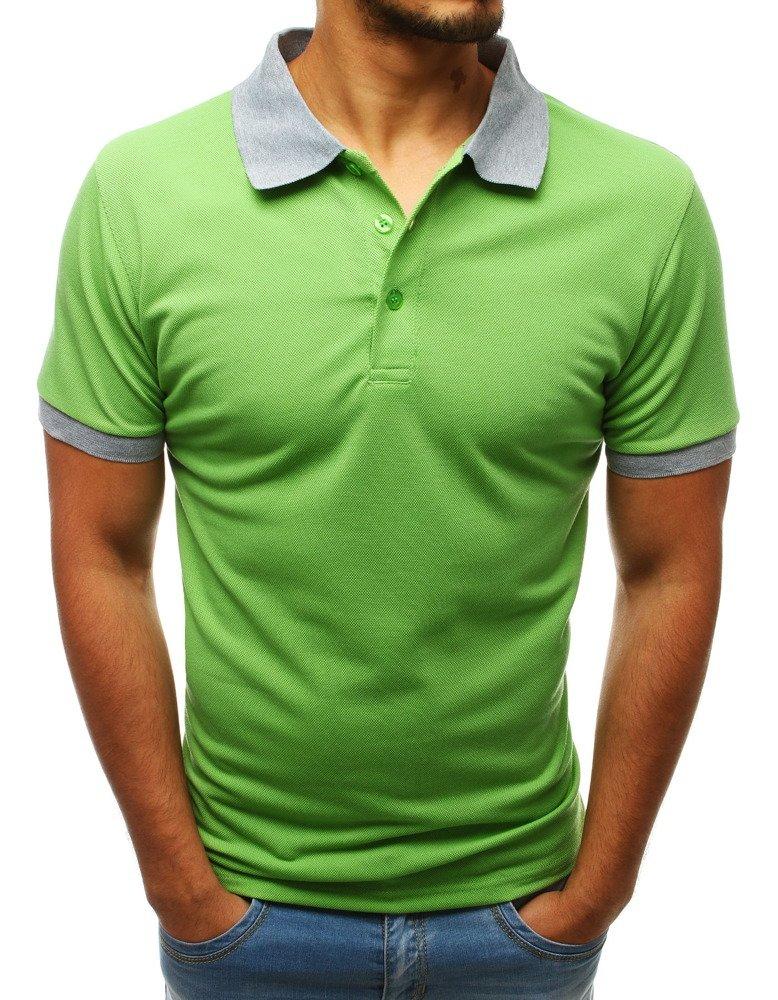 Pánske zelené polo tričko