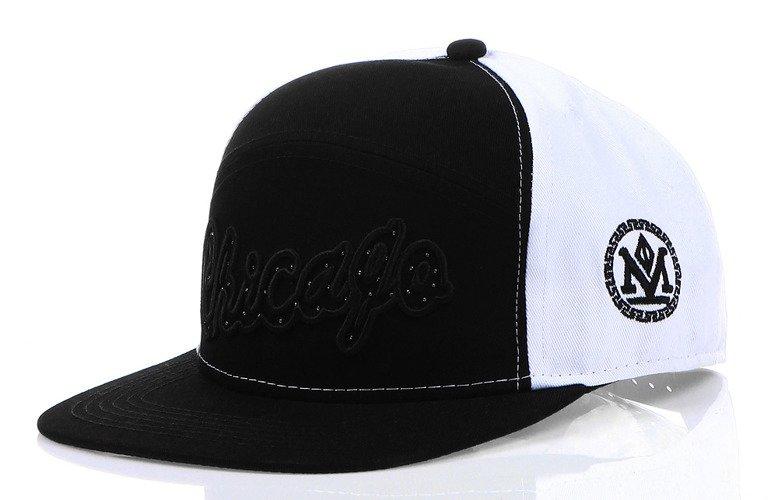 Pánska čiapka snapback čierno-biela