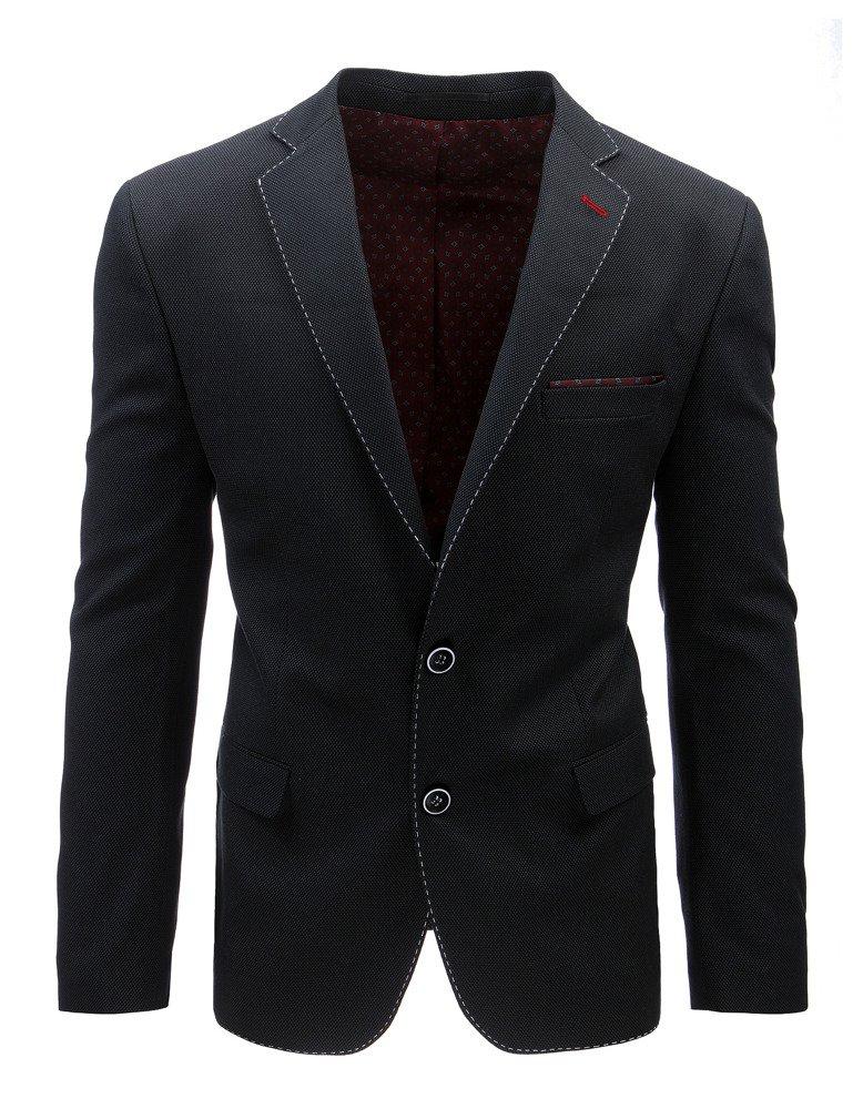 Čierne pánske sako (mx0353)