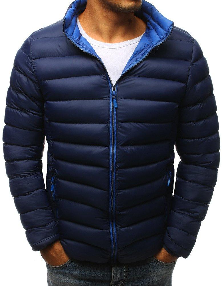 Granátová zimná pánska bunda (tx2375)