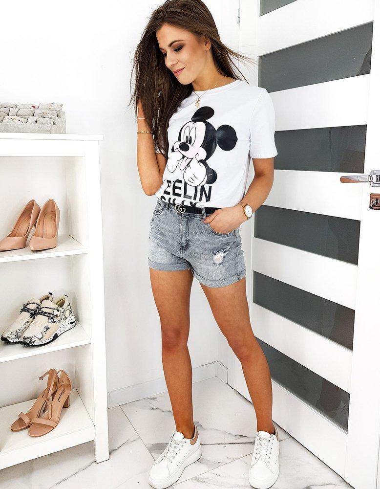 Szorty damskie jeansowe GREYSONS szare SY0164