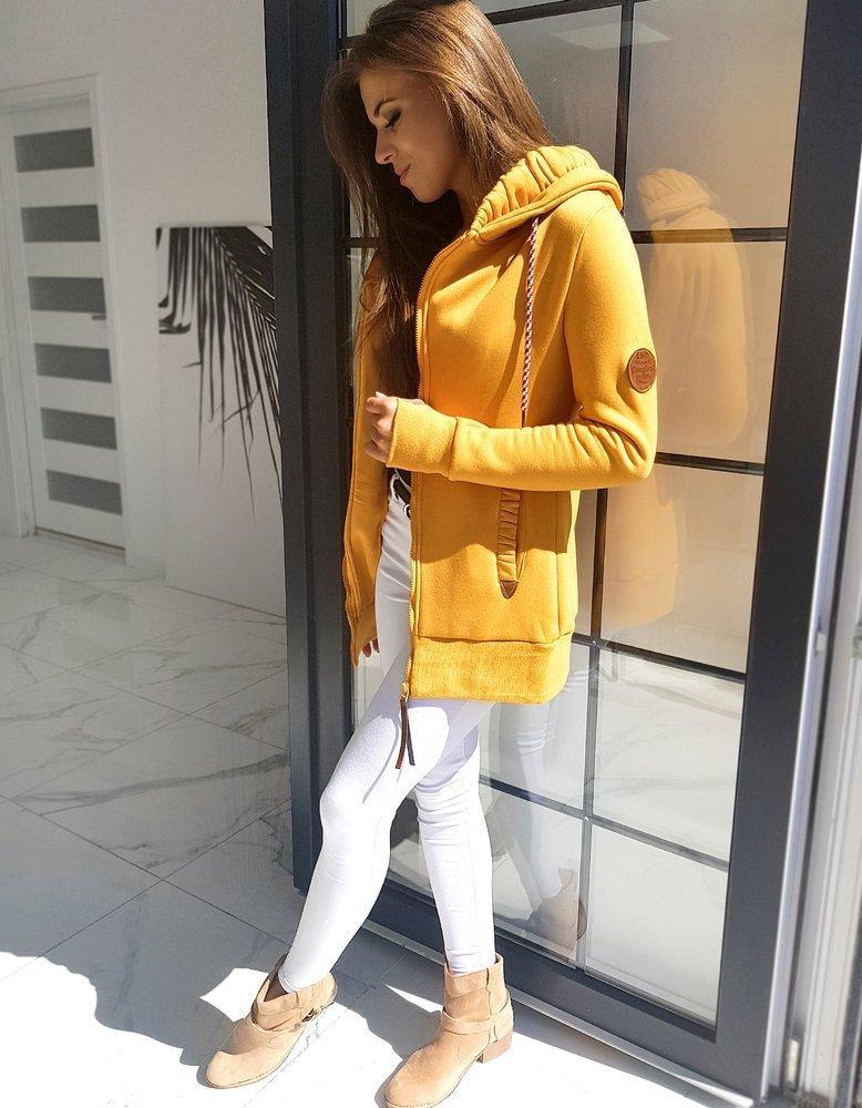 Bluza damska GIAGOS żółta BY0591