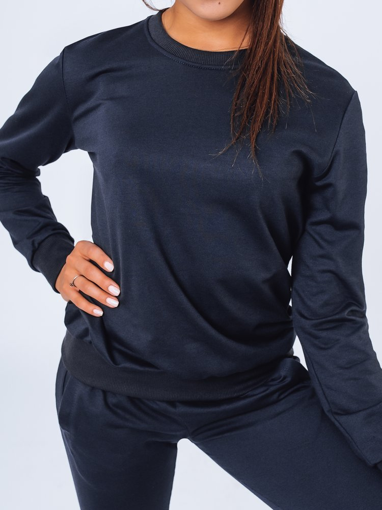 Bluza damska dresowa LARA granatowa Dstreet BY0974