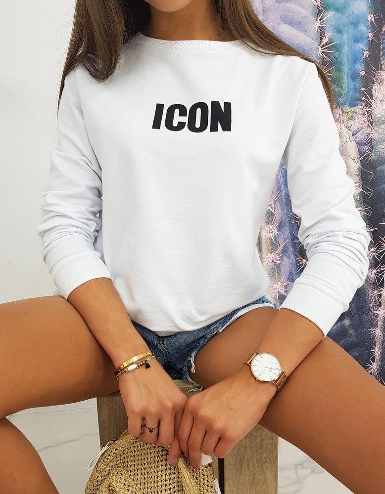 Bluza damska ICON biała BY0524