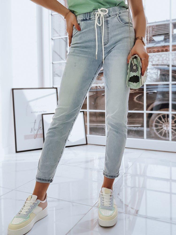 Spodnie damskie jeansowe TESSA niebieskie UY0730