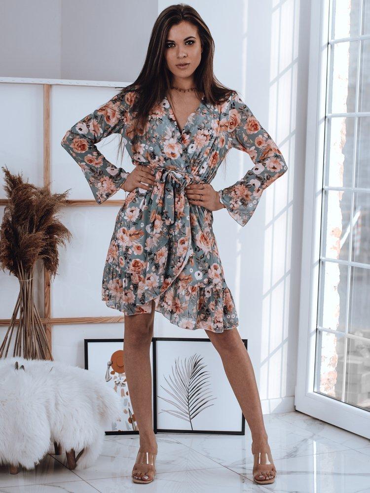 Sukienka POLEO miętowa EY1495