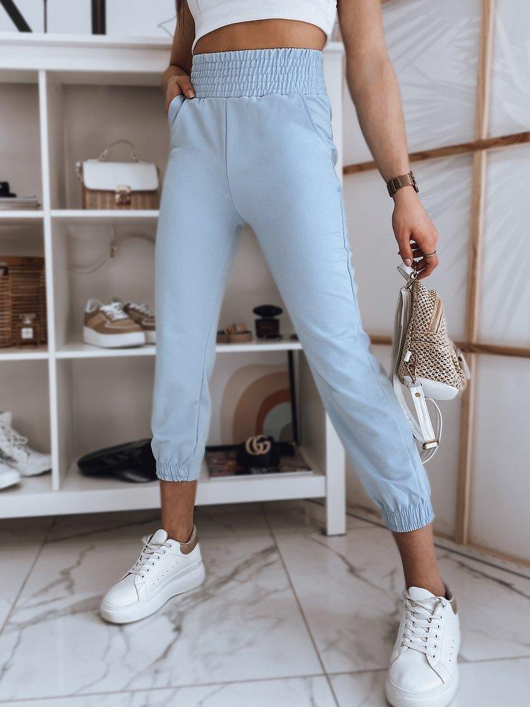 Spodnie damskie dresowe LANNY błękitne Dstreet UY0835