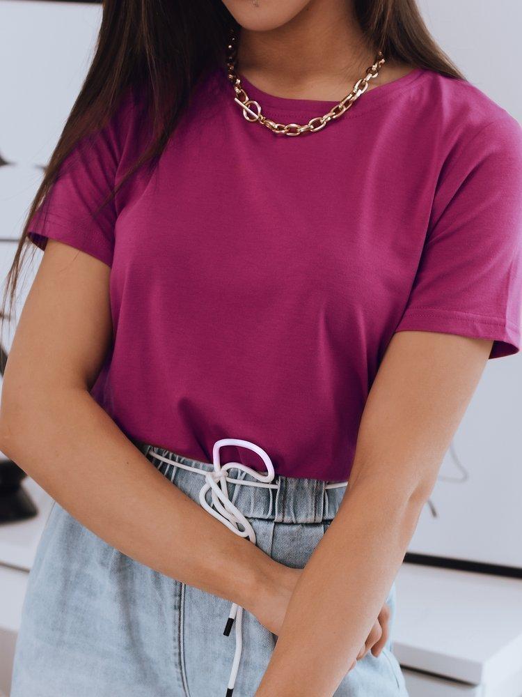 T-shirt damski MAYLA różowy Dstreet RY1622