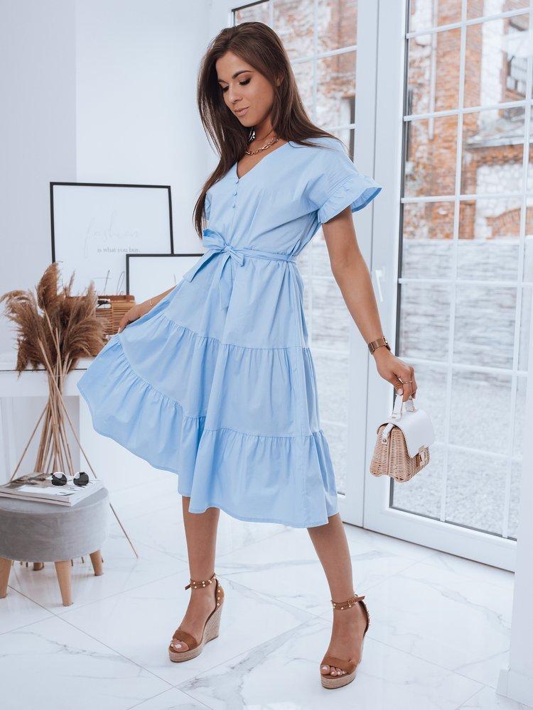 Sukienka GERIA błękitna Dstreet EY1735