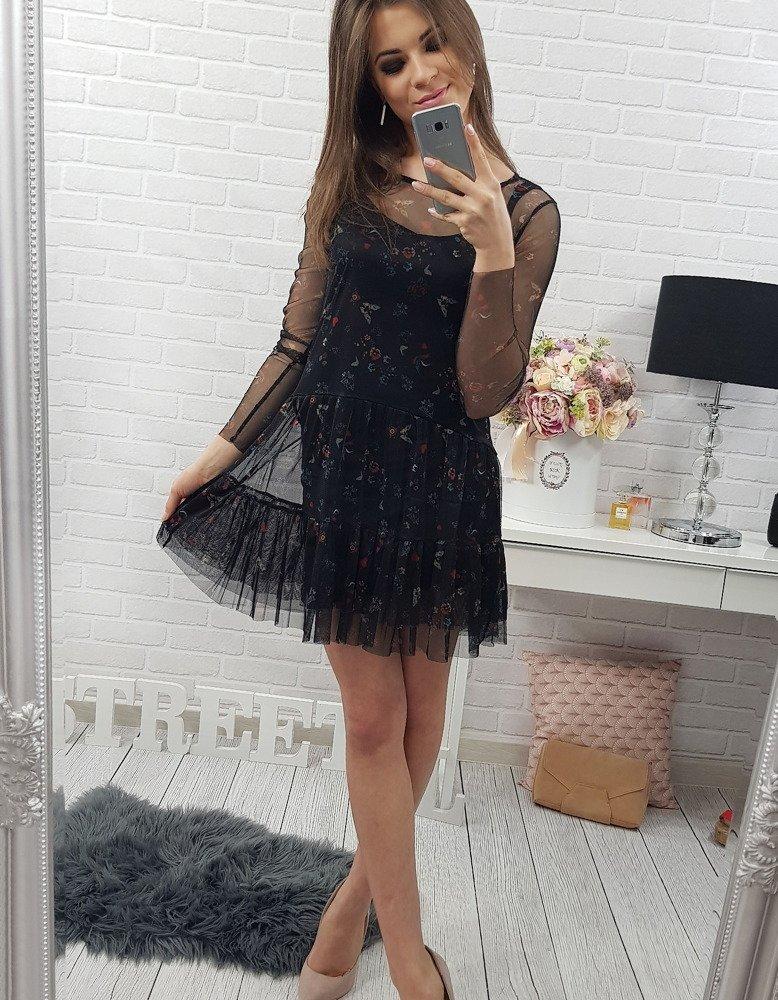 Sukienka Sage czarna (ey0242)
