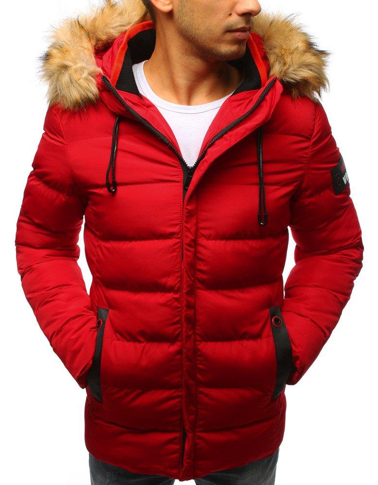 Prešívaná pánska bunda s kapucňou (tx2325)