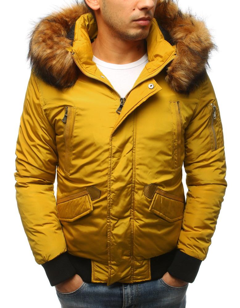 Pánska zimná bunda s kapucňou (tx2461)