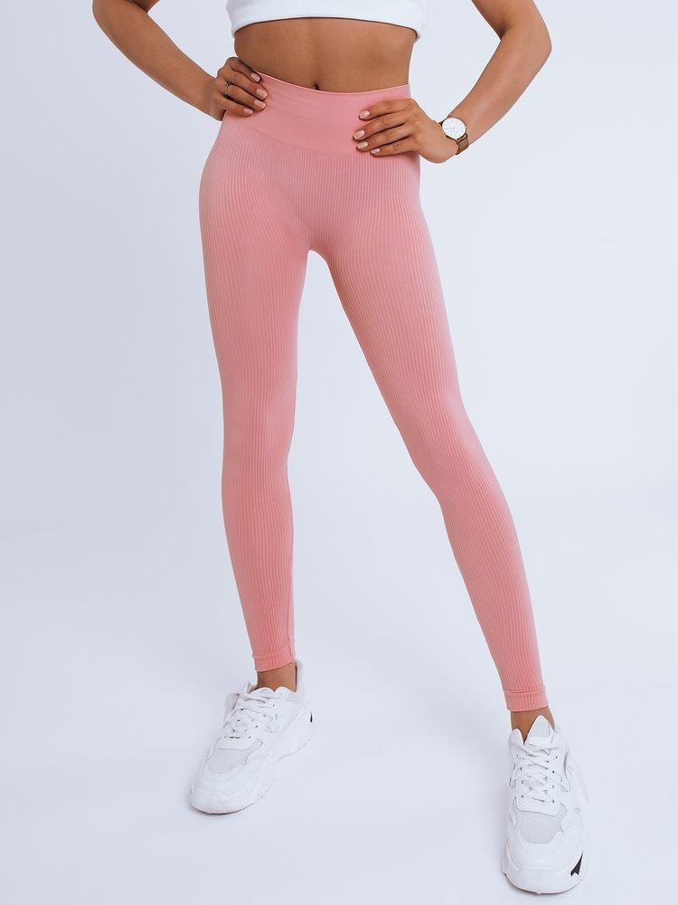 Legginsy damskie KIM różowe Dstreet UY0898