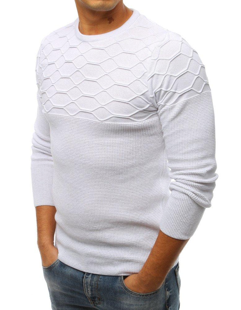 76f4392a43fb Pánsky sveter biely. 18756  18756  18756  18756 ...