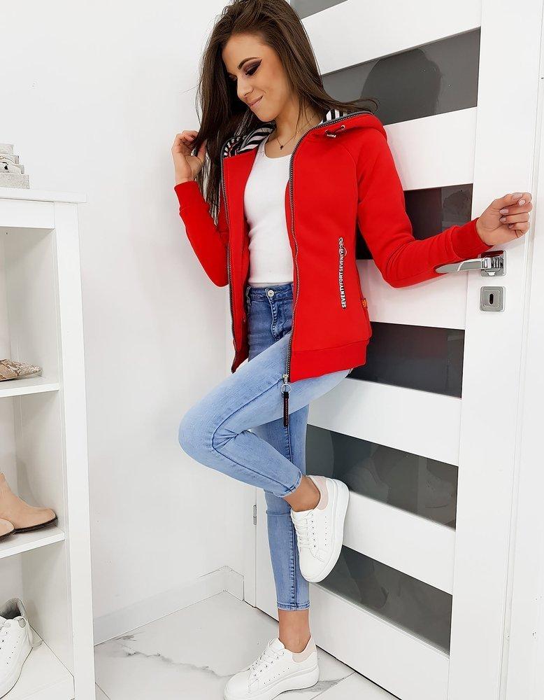 Bluza damska BREAKE czerwona BY0272