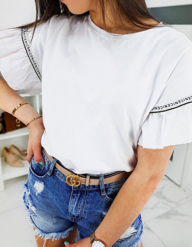 T-shirt damski NICE biały RY1260