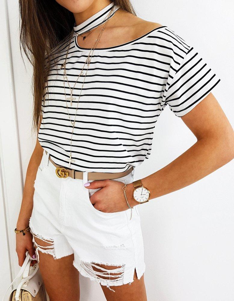 T-shirt damski COLINS MARINE biały RY1502