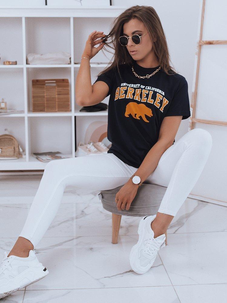 T-shirt damski JUDI granatowy Dstreet RY1687