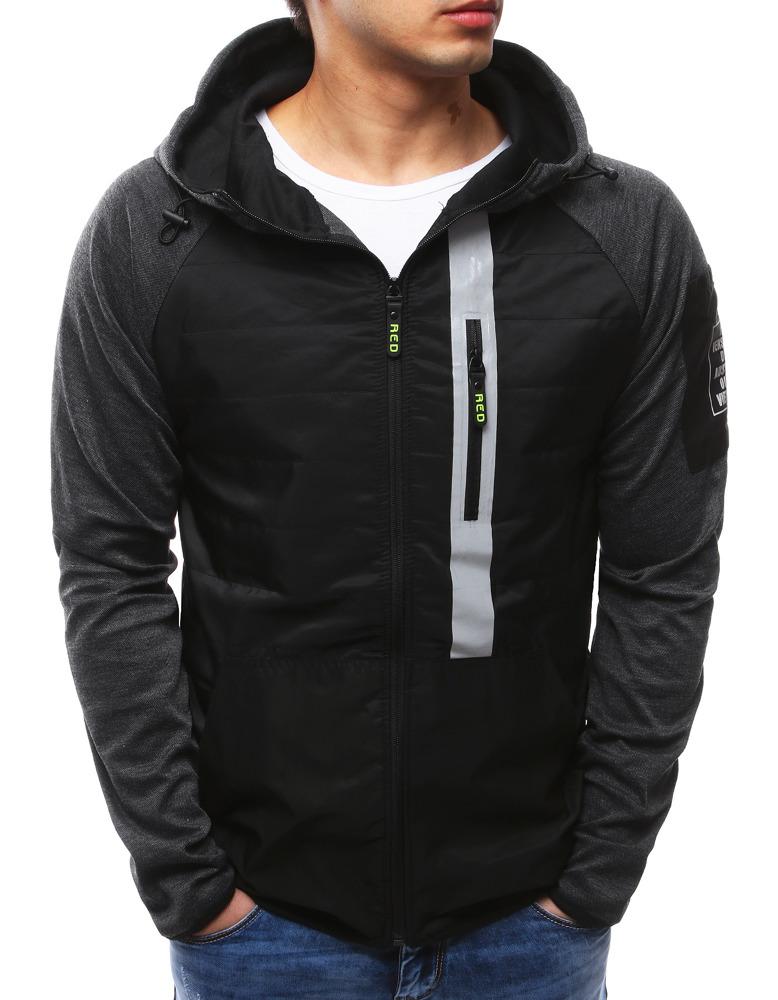 Čierna pánska bunda (tx2129)