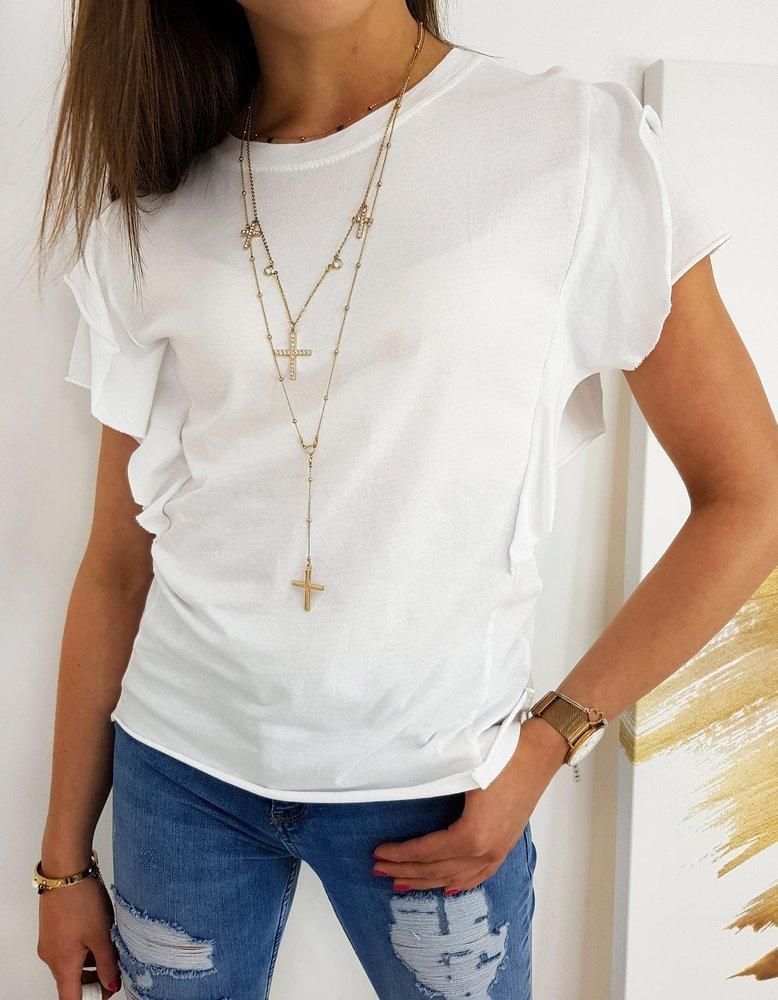 Bluzka damska MARONA biała RY1430